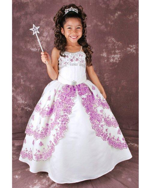 Vestidos de reinas y princesas infantiles - Imagui