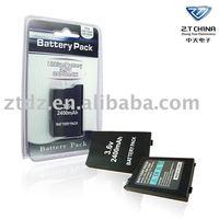 for PSP2000/3000 lithium 2400mah battery PSP battery pack