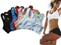 Yoga Bra yoga vest 10pcs/lot New women's Sports Bras