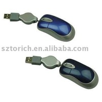10pcs/1lot Mini Optical Wired Gift Mouse Free Shipping