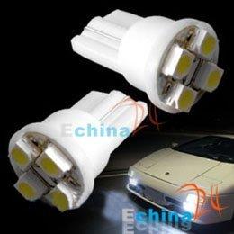 194 501 921 T10 W5W 4 LED SMD White Halogen Bulb 904 Wholesale and Freeshipping 200 pcs