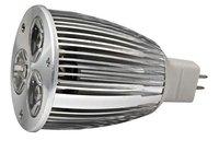 MR16 LED Spot light, 3*3W;AC/DC12V input;Warmwhite
