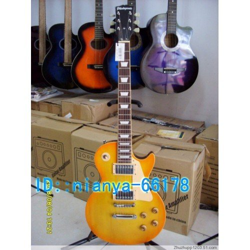 Is absolutely authentic Japanese Photogenic LP electric guitar models 0860(China (Mainland))