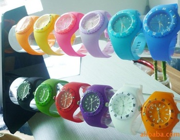 wholesale free shipping  Silicone dround Watches silicone watch wristwatch