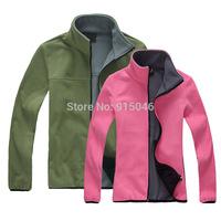 Outdoor fleece clothing male thickening fleece clothing female clothing cardigan fleece outdoor jacket liner