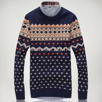 2014 Mens sweaters hot-selling autumn and winter men cardigan slim fit outerwear cardigan men
