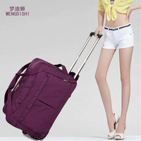 Free Shipping Fall 2014 new water-proof Oxford spinning rod package female bag big luggage capacity