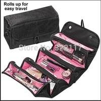 2014 NEW arrival cosmetic bag fashion women makeup bag hanging toiletries travel kit jewelry organizer