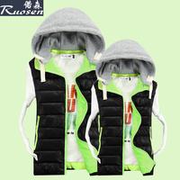 Male casual Men vest cotton vest waistcoat lovers cotton vest outerwear