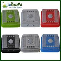 Wireless Infrared 8 LED Light Lamp PIR Auto Sensor Motion 2*AA Battery