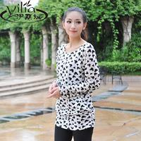 2014 new fashion autumn women's long design thin long-sleeve cardigan shirt sun protection clothing basic shirts