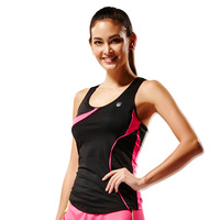 Leevy sports vest female belt pad sleeveless sports t-shirt summer fitness quick-drying running vest work out suits