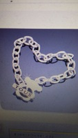 silver bracelet cutout bear fine chain fashion accessories girlfriend gift gifts