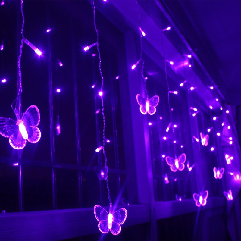 Popular curtain christmas lights for Bathroom design 3mx3m