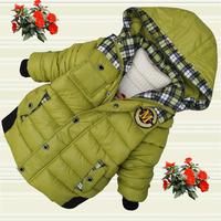 children's clothing winter 2014 male child wadded jacket cotton-padded jacket gossip child cotton-padded jacket boy child