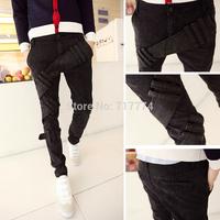 Free shipping 2014 new fashion denim mens jeans true harem jeans pants skinny jeans