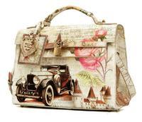 free shipping new fashion Birk bag  vintage oil painting bags flower  Designer shoulder messenger bag women's handbag girl woman