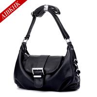 Fashion popular women's cowhide handbag all-match brief casual shoulder bag cross-body bag