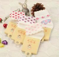 Baby socks solid color roll up hem rib top 100% baby socks cotton socks children socks