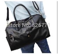 2014 New stylish men's Brit Air tote PU leather men's shoulder Messenger Bag  travel casual shoulder Bag cross-body travel bag