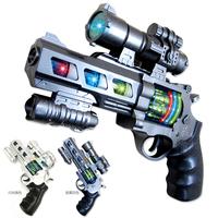 Toy gun  infrared pistol music toy gun    model baby electric toy pistol