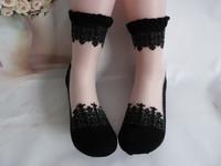Hot-selling baroque classical ballet socks crystal socks black socks lace socks ultra-thin meat sock female