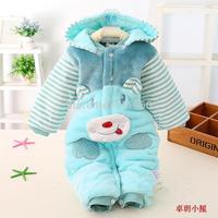 Baby autumn and winter jumpsuit romper - 12 0 - 18 bodysuit romper long climbing