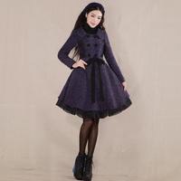 [LYNETTE'S CHINOISERIE - YHT ] Autumn Original Women Plus Size Slim Elegant Woolen Skirt Overcoat Outerwear Sz S M L XL XXL XXXL