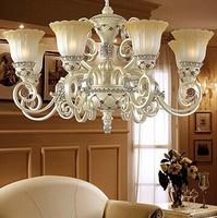 Fashion pendant light simple european rustic lighting vintage iron bedroom lamps led restaurant lights brief