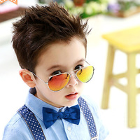 Child mirror sun glasses male child large sunglasses female sunglasses multicolour parent-child