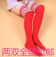 Free shipping high-quality knee-high Shape the stripe football socks