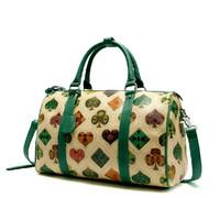 free shipping fashion new spring poker big tote women's handbag  designer design vintage messenger bag travel Boston bag
