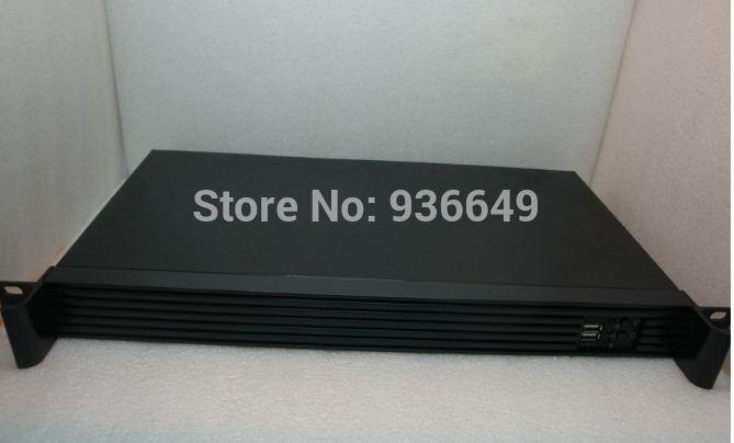 Mini itx 25cm ultra-short 1u server firewall industrial 17*17 motherboard computer case(China (Mainland))