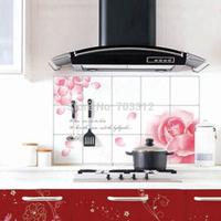 Quality super large oil pollution smoke tile kitchen cabinet decoration stickers  21 color