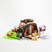 Picnic bag for serveral person, outdoor promotional picnic cooler bag