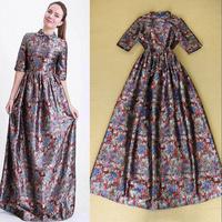 Fashion 2014 liangsi elegant half sleeve expansion bottom evening dress formal dress full dress one-piece dress