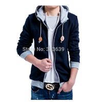 Hot Selling,Winter&Autumn Men's Fashion Brand Slim zip Hoodies Sweatshirts ,Casual Sports Male Hooded Coat Jackets Free Shipping