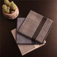 2014 new fashion 100% cotton man business handkerchief  free shipping