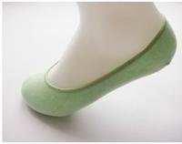 Bamboo fibre sock slippers invisible socks women's socks i 100% cotton socks slip-resistant  shallow mouth thin sock 5 pairs
