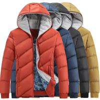 New arrival plus size hooded casual parka for men warm slim men's winter jacket coat  M--5XL