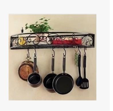 Hierro forjado muebles de jard n bastidores de cocina for Almacenaje de jardin