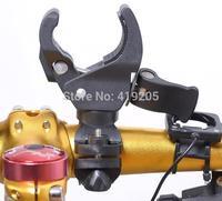 Universal Rotating lights clip glare flashlight bracket bicycle the front mount 360 rotating rubber bracket
