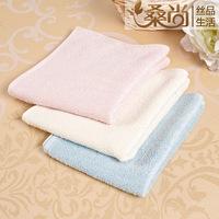 Pure Silk small towel squareinto handkerchief skin care soft 3pcs/Lot 23*26cm