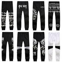 DG-48 Black Harajuku Sport pants Sweatpants Outdoors Fashion men's pants Sports trousers hip hop pants men Joggers Jogging harem