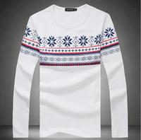 Hot Sale Men Tshirt Fashion T-shirts Spring Autumn Wear Long Sleeve 2 Colors 8 Sizes: M- 4XL 5XL 6XL, #015