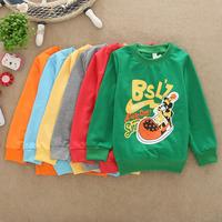 Children's clothing long-sleeve hot-selling kid sweatshirt Wholesale&retail