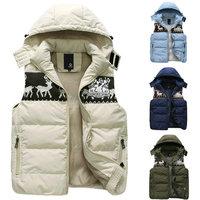 Hot swlling new fashion men vest casual men's vest lovers waistcoat  S--3XL