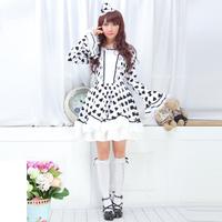 Glp 2014 sweet autumn long-sleeve dress flare sleeve one-piece dress 81144
