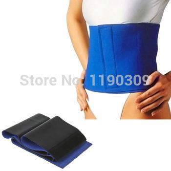 Slimming Exercise Waist Sweat Belt Wrap Fat Burner Body Leg Neoprene Cellulite High Quality free shipping(China (Mainland))