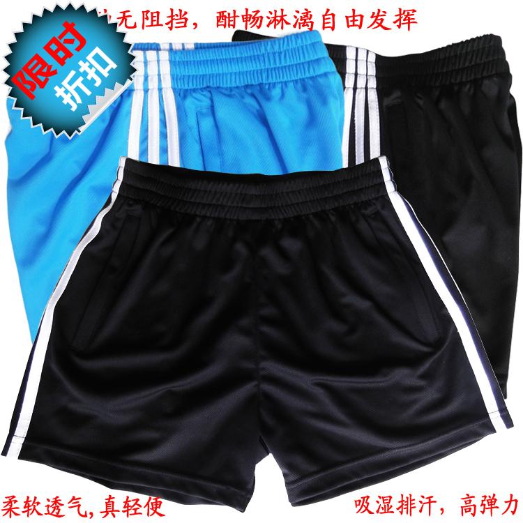 Football basketball shorts male summer fresh run breathable hyperelastic gym shorts(China (Mainland))